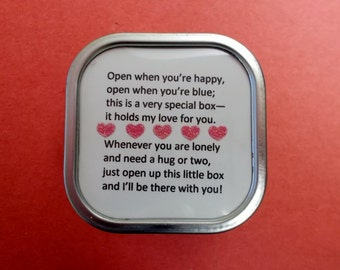 Love Box Full of Hearts and Love for Family, BFF, Friends and Other Loved Ones