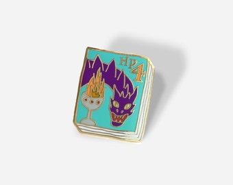 Book Pin: HP #4