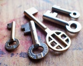 Brass Beauties Antique Key Set / Instant Collection