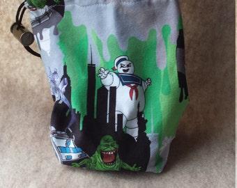 Ghostbusters  Custom Jersey Knit Dice Card Bag