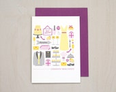 SALE Congrats Newlyweds Card