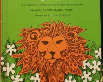 A Paper Zoo, A Collection of Animal Poems by Modern American Poets
