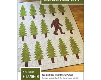Legendary quilt pattern from Elizabeth Hartman - lap quilt or floor pillow