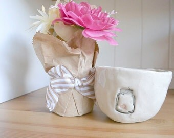 Mini-Bowl with Mason Jar containing one Heart