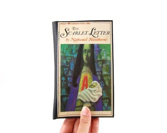 The Scarlet Letter - Paperback Wallet - made from recycled vintage paperback book