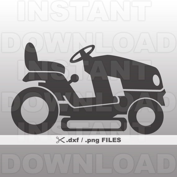 riding mower dxf file lawn mower dxf vector art commercial