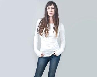 Women's Shirt • Ultra Long Sleeve Tshirt • Top • Tall Length • Loft 415 Clothing (No. 213)