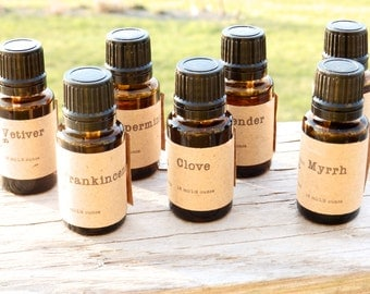 Rose Geranium Essential Oil - 15 ml (1/2 ounce) 100% Pure