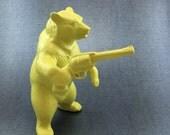 Bear with a gun