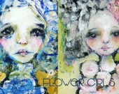 Flower Girls online project - by Mindy Lacefield