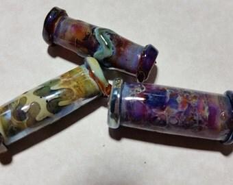 Lampwork Borosilicate Beads HOT STIX Two Sisters Designs 102416B