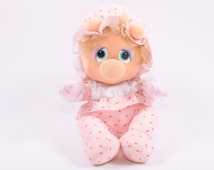 Muppet Babies Plush Miss Piggy Doll Hasbro Excellent Shape ~ Pink Room ~