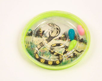Interesting Vintage Party Favor Maze Game Snakes And Mice Cobra ~ The Pink Room ~ 161110