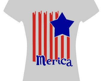 America flag shirt
