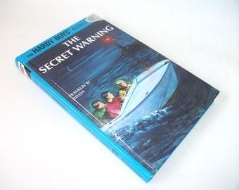 Hardy Boys Hollow Book Safe Secret Warning Hollowed out Book Secret Stash Compartment Keepsake box