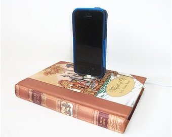 IPhone 5 and 6 Charging Dock, Wizard of Oz Book, IPod  Docking Station