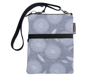 Kindle 4 Case / Kindle Fire Cover / Kindle Touch Bag / Nook Bag / Padded eReader Case / TRAVEL BAG fit WITH Cover- Dandilion Wishes Fabric
