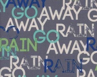 Cotton + Steel Raindrop - rain go away storm - 50cm