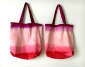 Ombre Dyed Cotton Project Bags