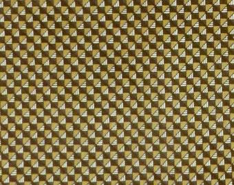 Dramatic Vintage Velveteen Fabric Panel