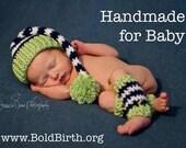Crochet Baby Elf Hat Set ...