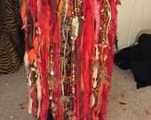 Gypsy Voodoo Priestess Custom Skirt for Cheryl Sczepanski