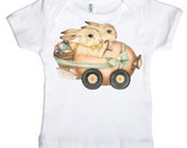Funny Bunny Infant T shirt, Easter Rabbit Baby Shirt, Infant Tee,  3 months, 6 months, 12 months, 18 months