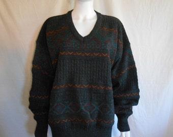 Knit Acrylic Wool Sweater