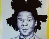Basquiat - Original painting by Mr Hooper of Nashville Tennessee