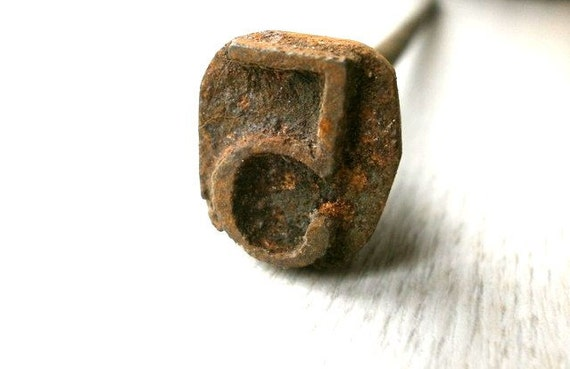 Vintage Japanese Yakiin - Vintage Branding Iron - Number Five - 5 - Metal Stamp - Kanji Stamp - Chinese Character - Japanese Stamp - F184