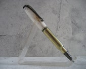 Bullet Casing and Antler Pen (30-30 Caliber)