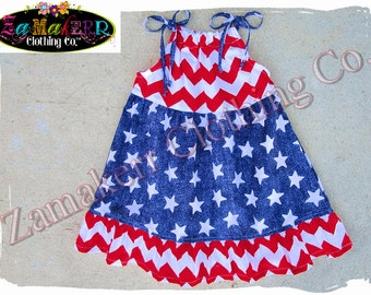 2T 24 month 3T 3 ONLY Clearance Boutique Clothing Girl Chevron Stars Dress Set Fourth 4th of July Stripe Star Birthday Size 24 month 2 2T 3
