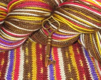 Pandora's Sox self striping sock yarn - in stock!