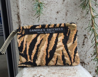 Jungle Print Coin Purse