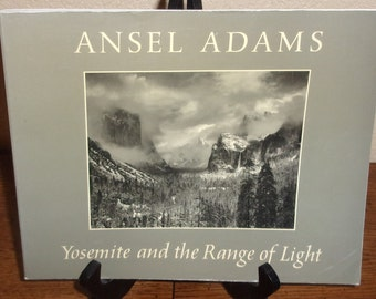 Ansel Adams Yosemite and the Range of Light-Paperback Book-1979