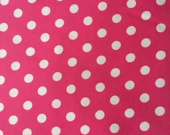Baby Doll Sling- White Dots On Pink-Perfect For American Girl Dolls-Free Shipping When Purchased With a Wrap