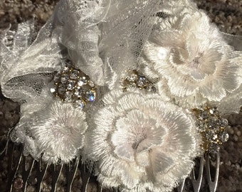Custom Made Bridal Comb