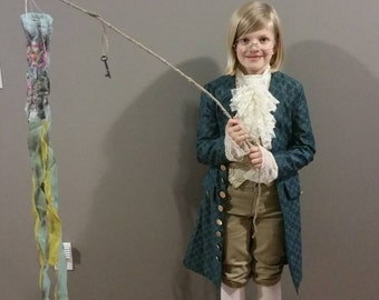 Boys Benjamin Franklin, George Washington, founding father, or colonial costume, size 8/10