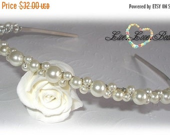 ON SALE 15% OFF Pearl Alice Band
