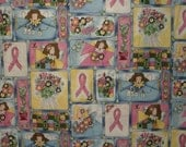 Breast Cancer Awareness Fabric