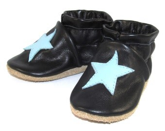 Soft Sole Leather Baby Shoes 0 to 6 Month Eco Friendly