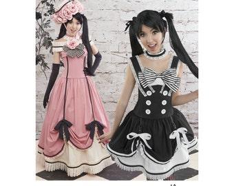 Simplicity Pattern 8233-Lolita Corset,Skirt Long Skirt, Petticoat Cosplay Plus Size