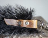 For Stacy//New Zealand Shearling Tassel with Silver Hardware