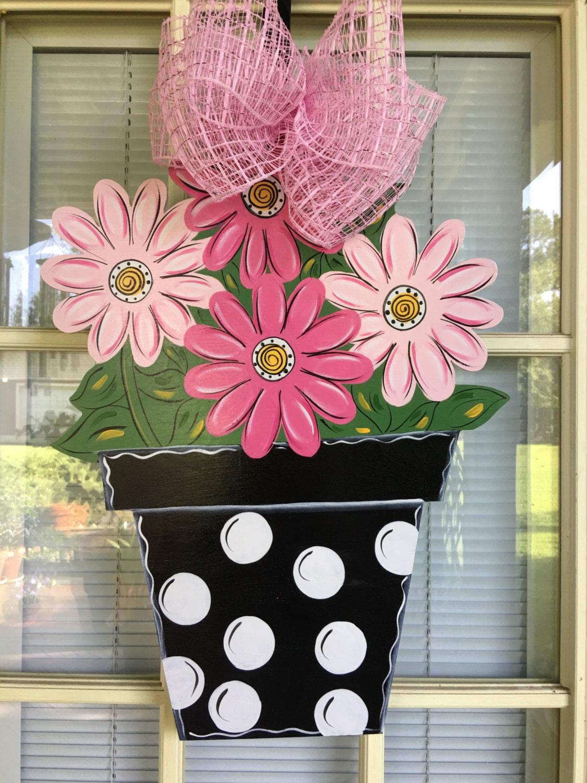 Spring Door Hangers Flowers