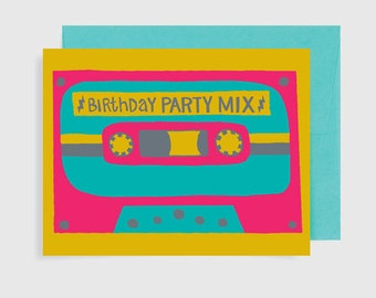 Birthday Card -  Birthday Party Mix