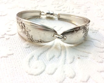 Queen Bess Spoon Handle Bracelet