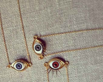 Third Eye Necklace - with Diva Lashes-