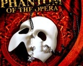 "Phantom of the Opera ""RARE"" Genuine Phantom Tour Chandelier Crystals Amulet"
