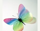 NEW YEAR SALE B039 - 12 x 3D Butterflies Suitable for Scrapbooking, Weddings and Decorations