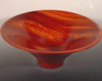 Borneo Rosewood wood bowl, turned wooden bowl number 6201 by Bryan Nelson